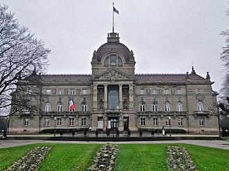 Place de la République (Strasbourg) - Palais du Rhin
