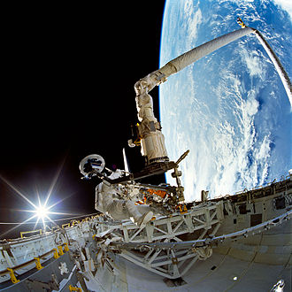 Daniel T. Barry - Barry performing a spacewalk during STS-72.