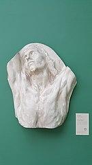 Study head of Christ of the human passions