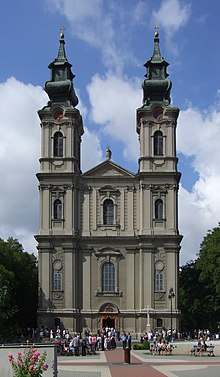 Subotica (Szabadka, Суботица) - catedral católica.JPG