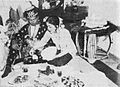 Sundanese marriage, eating together, Wedding Ceremonials, p74.jpg