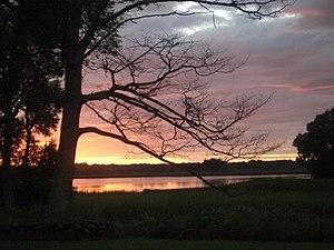 Cherry Valley, Prince Edward County, Ontario - Image: Sunset in Cherry Valley Ontario
