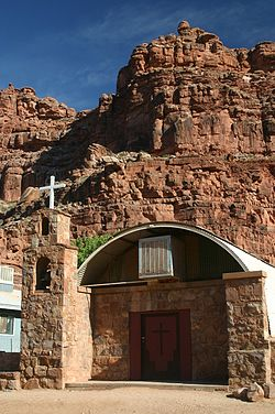 Church building in Supai