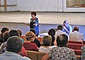 Susanna Mkrtchyan conversation with the teachers and community of Rind village. 01.jpg