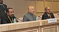 Sushil Kumar Shinde addressing a Press Conference on the deliberations of the Conference of Chief Secretaries and DGsP regarding Crimes Against Women and Atrocities against SCsSTs, in New Delhi on January 04, 2013.jpg