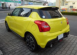 Suzuki SWIFT Sport (CBA-ZC33S-VBRM-J) rear.jpg