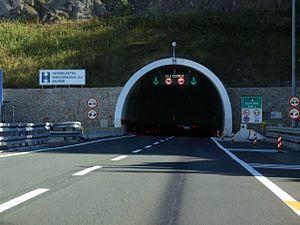 Sveti Rok Tunnel - North entrance of the tunnel