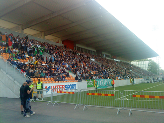Solid Park Arena - Derby at Swedbank Park