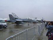 Swiss F-18D MAKS2013
