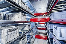 Automated Storage And Retrieval System Using The Highly Dynamic Tgw Stingray Shuttle Technology
