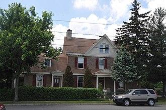 Westville, New Jersey - Thomas West House, built ca. 1746
