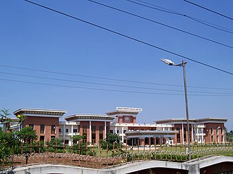 Tamil Nadu Agricultural University - Centenary block of the Tamil Nadu Agricultural University, Coimbatore