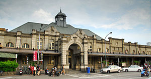 Hsinchu Station - Hsinchu Station's historic station front