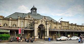 Hsinchu railway station - Exterior