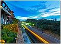 TRA Qiding Station platforms 20150519 night.jpg