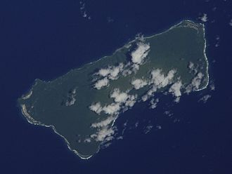 Ta'ū - Ta'u as seen from space