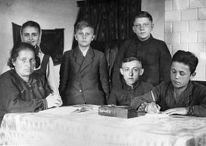 Education in Poland during World War II - Łopiennik Górny 1941 - Education in Poland during World War II