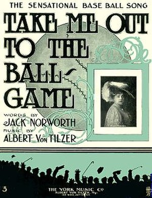 1908 in music - Image: Take Me Out Ballgame Cover