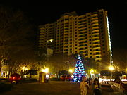 Tallahassee during Christmas