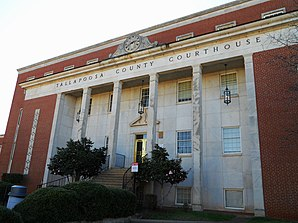 Tallapoosa County Courthouse in Dadeville