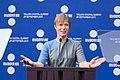 Tallinn Digital Summit opening address by Kersti Kaljulaid, President of the Republic of Estonia Kersti Kaljulaid (37340188786).jpg