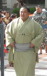 Tamawashi Ichirō Mongolian sumo wrestler