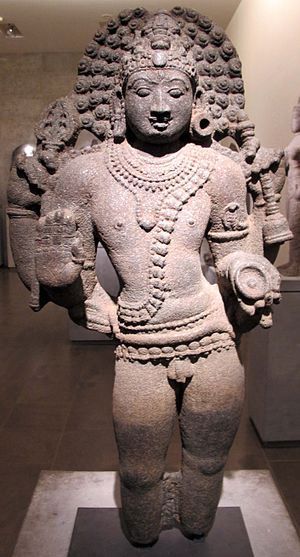 Bhairava - A Bhairava sculpture from Chola era.