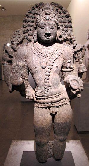 Bhairava - A Bhairava sculpture from Chola era.