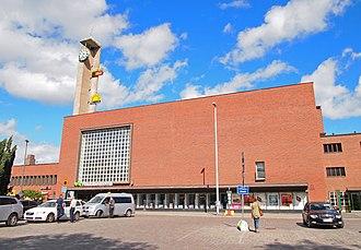 Tampere Central Station - Tampere railway station, July 2013.
