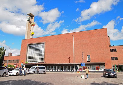 How to get to Tampereen Rautatieasema with public transit - About the place