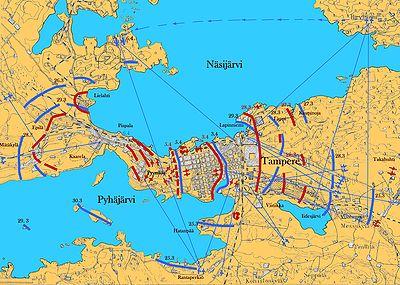 Tampereen taistelu – Wikipedia