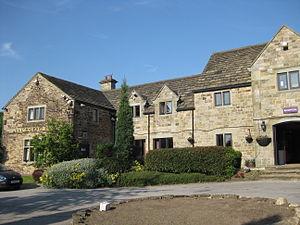 Tankersley, South Yorkshire - Image: Tankersley Manor 2013