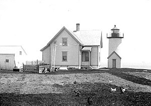 Tarpaulin Cove Light - circa 1891