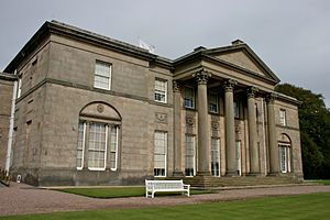 Tatton Hall - South face of Tatton Hall