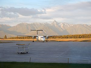 Cranbrook/Canadian Rockies International Airport - Image: Taxi YXC