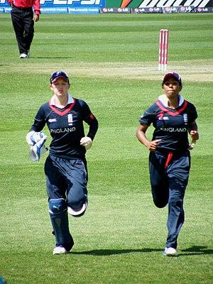 Sarah Taylor (cricketer) - Image: Taylor & Rainford Brent