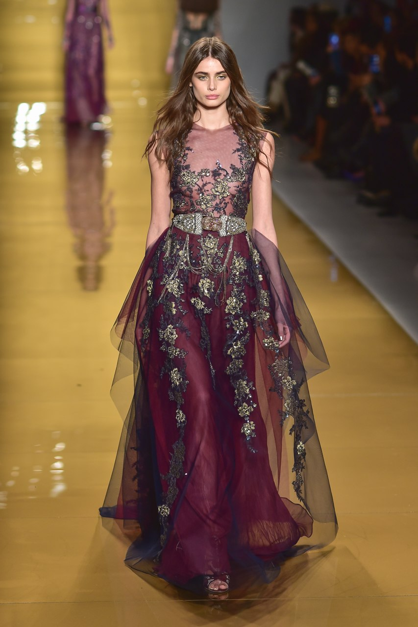 Taylor Marie Hill Reem Acra FW 15 Show