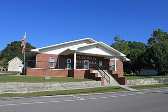 Tazewell, Tennessee - Tazewell City Hall