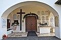 Techelsberg Sankt Martin Pfarrkirche hl. Martin Turmvorhalle 10012014 3067.jpg