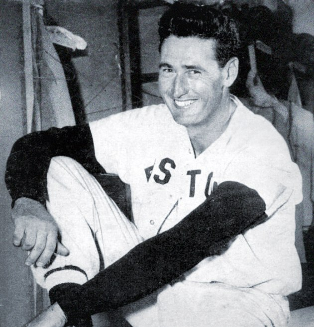 Ted Williams BBall Digest May 1949 raw