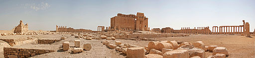 Tempel des Baal in Palmyra