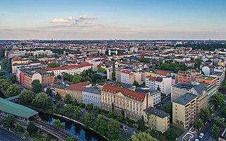 Kreuzberg Quarter of Berlin in Germany