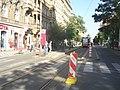 Temporary tram stop Vinohradská vodárna.jpg