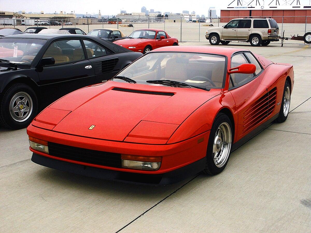 Ferrari Testarossa Wikipedia La Enciclopedia Libre