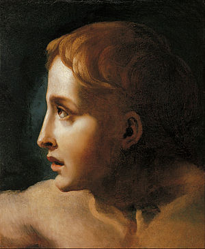 Théodore Géricault - Study of the Head of a Youth
