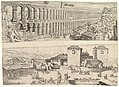 The Aqueduct at Segovia and The Castle of Madrid MET DP822096.jpg