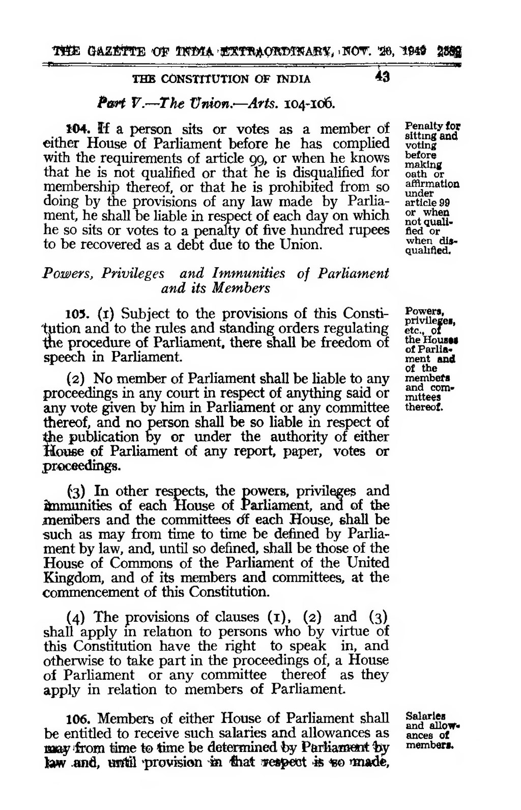 constitution of india pdf download