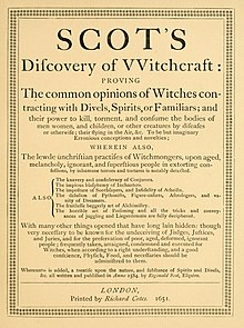 The Discoverie of Witchcraft (1651).jpg