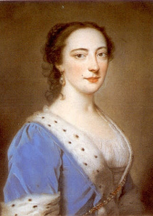 Mary Howard, Duchess of Norfolk (died 1773) - The Duchess in 1730s, by William Hoare