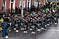 The FDNY EMS Pipes and Drums Band Took Part In The New York Parade On Sunday And Then Jetted To Dublin To March In Dublin On Sunday (8566210066).jpg